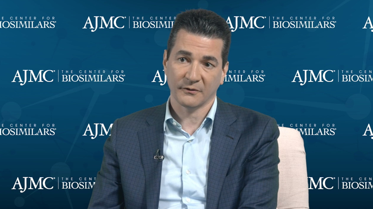Scott Gottlieb, MD: Policy Changes and Biosimilars
