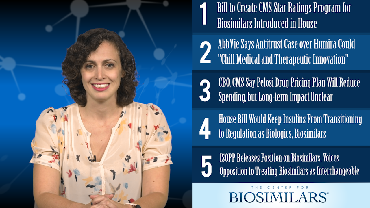 The Top 5 Biosimilars Articles for the Week of October 14, 2019