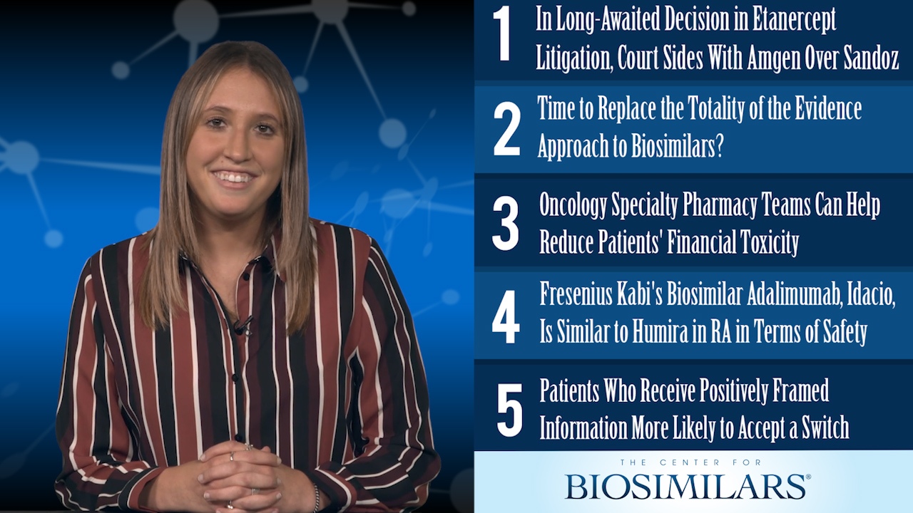 The Top 5 Biosimilars Articles for the Week of August 12
