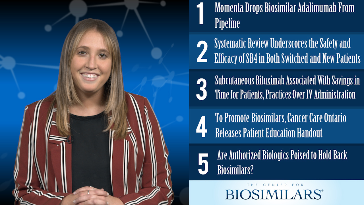 The Top 5 Biosimilars Articles for the Week of August 5