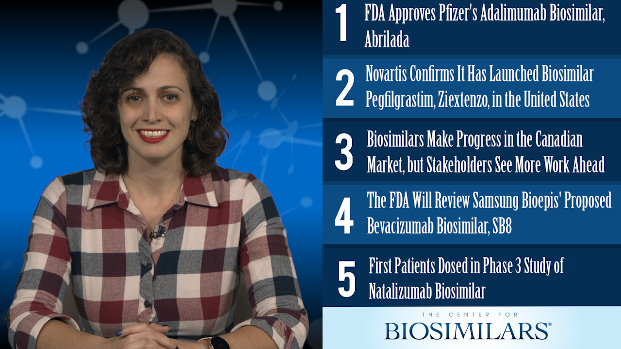 The Top 5 Biosimilars Articles for the Week of November 18