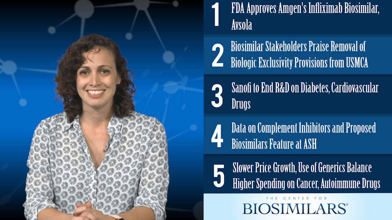 The Top 5 Biosimilars Articles for the Week of December 9