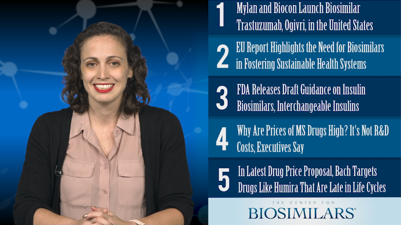 The Top 5 Biosimilars Articles for the Week of December 2