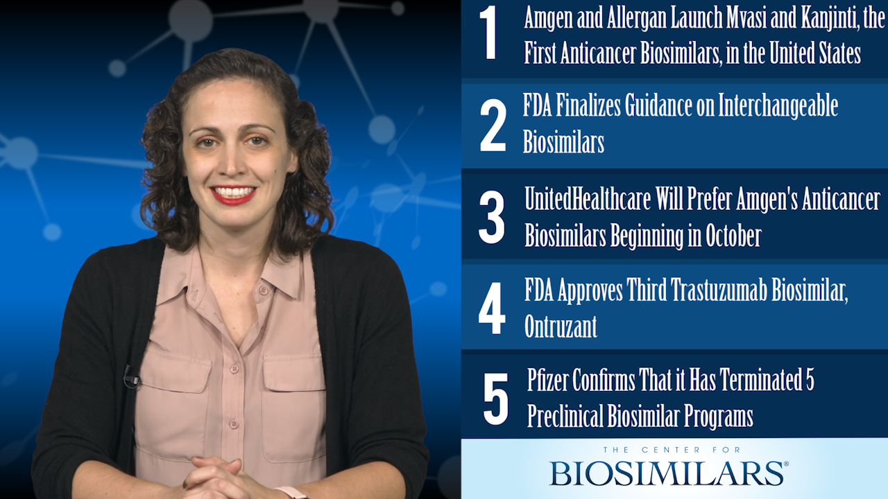 The Top 5 Biosimilars Articles for the Year 2019