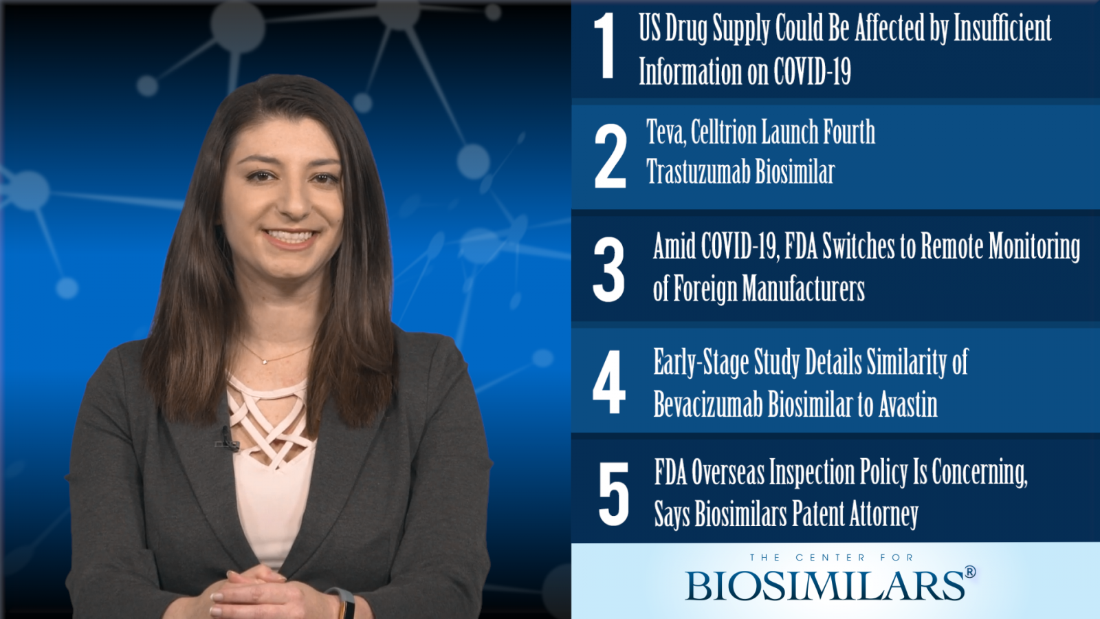 The Top 5 Biosimilars Articles for the Week of March 16